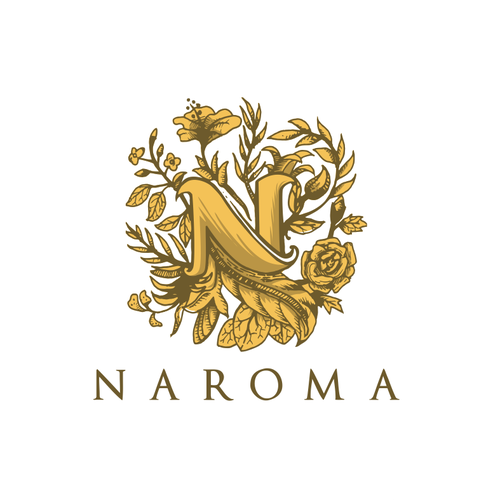N logo with the title 'naroma '