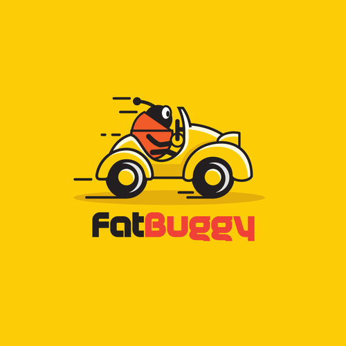 Bug logo with the title 'bug's car)'