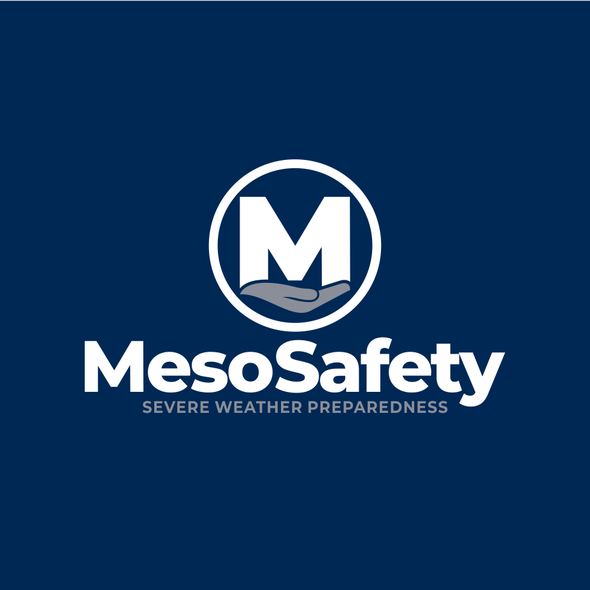 Weather logo with the title 'MesoSafety'