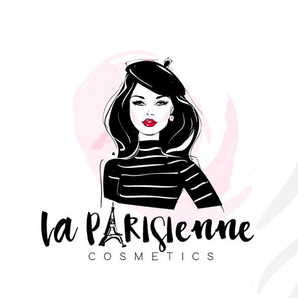 Paris logo with the title 'Beauty logo '