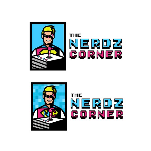 Arcade logo with the title 'The Nerdz Corner'