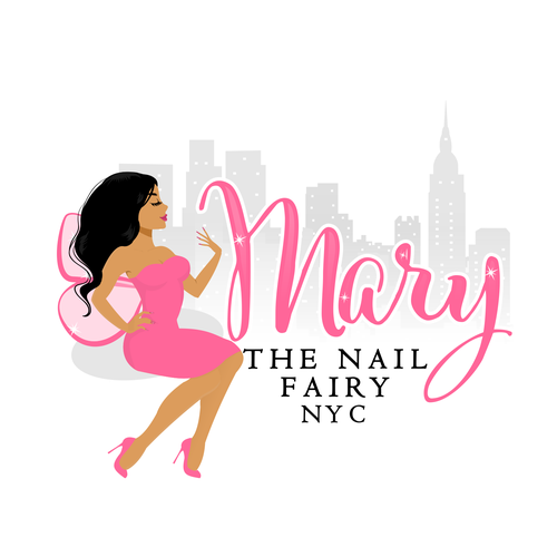 Nail design with the title 'Logo for a Nail technician '