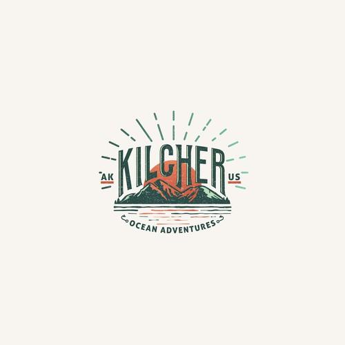 Alaska logo with the title 'Kilcher Ocean Adventures'