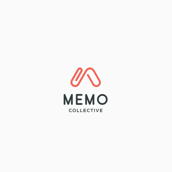 Clip logo with the title 'memo collective'