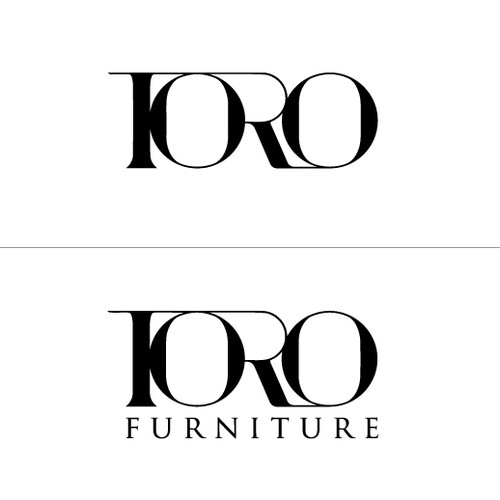 "Typographic logo with the title 'Create a logo for our brand ""TORO""'"