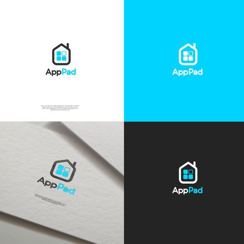 App logo with the title 'AppPad'