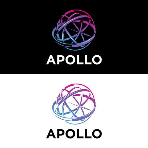 Greek mythology logo with the title 'APOLLO'