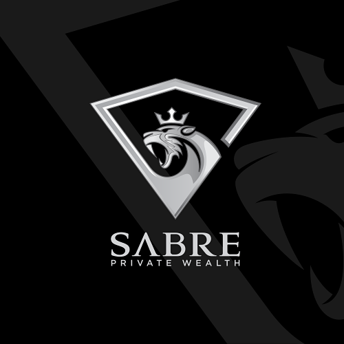 Canine design with the title 'Sabre Logo Design'