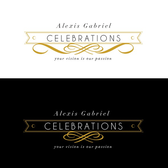 Event planning brand with the title 'Logo for event planner'