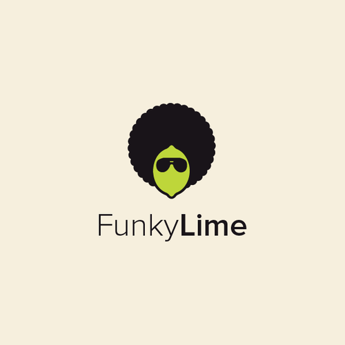 Funky design with the title 'Funky Lime'