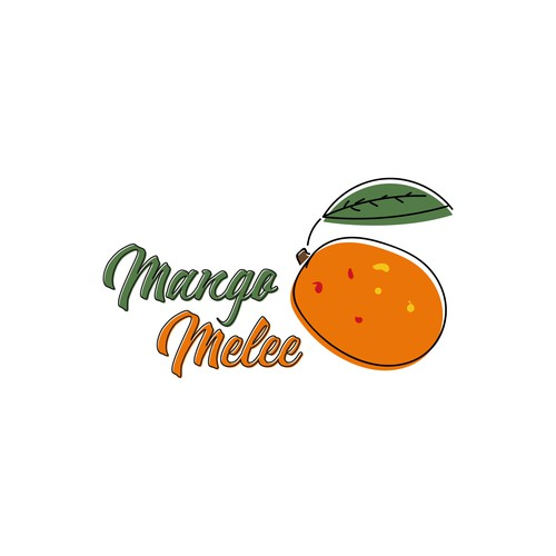 Mango logo with the title 'Mango Melee Logo'