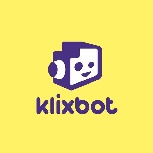Booth design with the title 'klixbot'