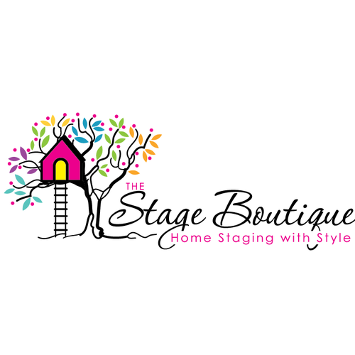 Childcare logo with the title 'cute tree house'