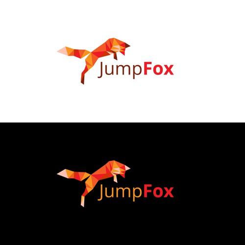 Mathematics design with the title 'Logo Design for JumpFox'