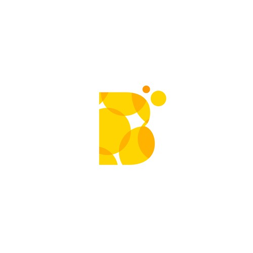Fruit logo with the title 'B + Bubbles'