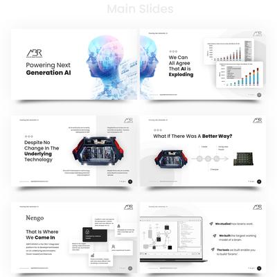 AI software company presentation deck