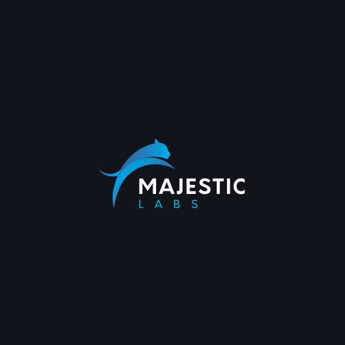 Animal logo with the title 'Bold logo concept for Majestic Labs'