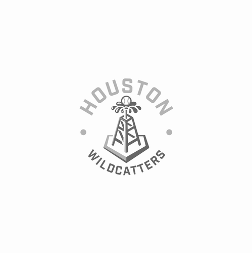 Club design with the title 'Houston Wildcatters'