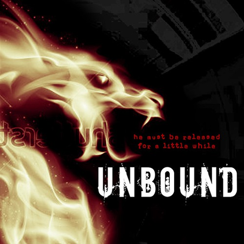 Science-fiction book cover with the title 'ICONIC cover for the YA thriller UNBOUND - plus win 2 one-on-one projects to complete the trilogy'