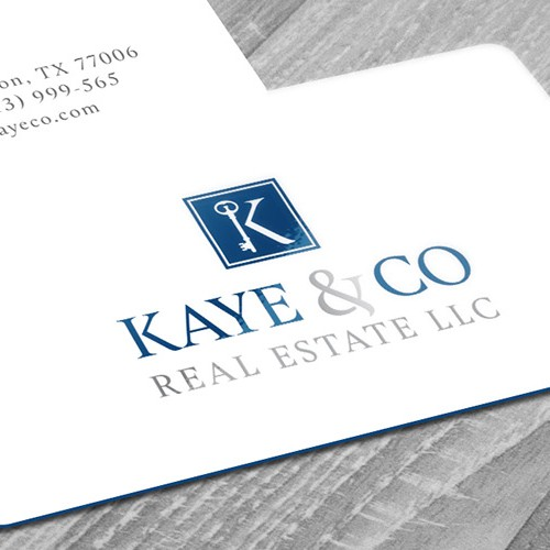 Real estate brand with the title 'Real estate logo'