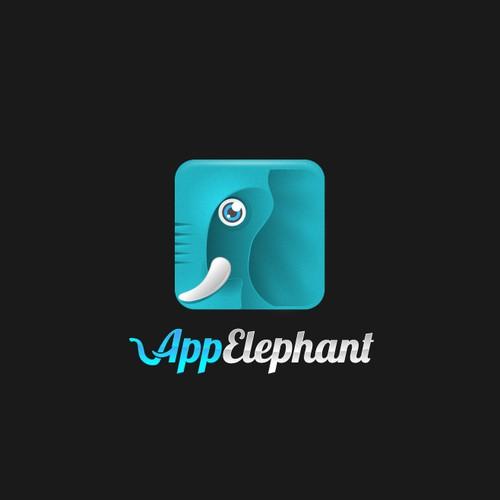 Elephant head logo with the title 'App Elephant'