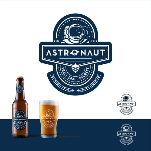 Astronaut logo with the title 'Astronaut '