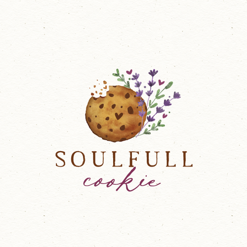 Earthy logo with the title 'soulfull cookie'