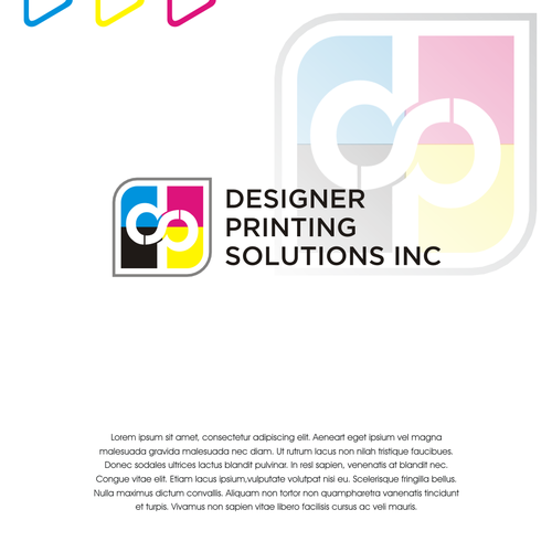 Solution brand with the title 'create logo for Designer Printing Solution'
