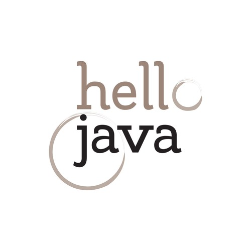 Java logo with the title 'Fresh logo for K-Cup delivery service'