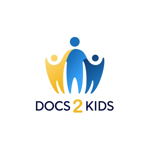 Welfare logo with the title 'docs 2 kids logo'