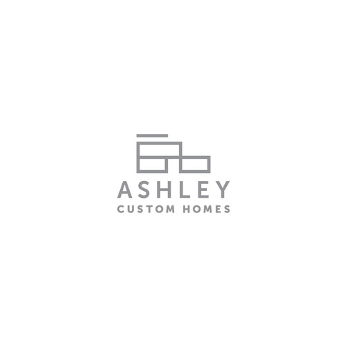 Home design with the title 'Ashley Custom Homes'