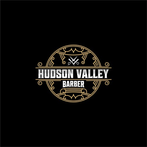 Barber brand with the title 'Hudson Valley Barber'