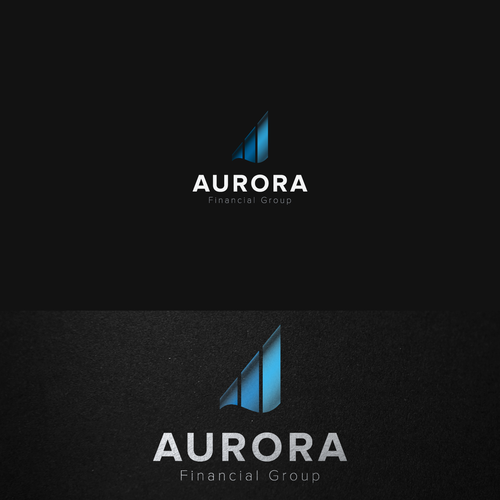 Accounting brand with the title 'AURORA'