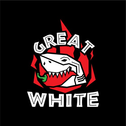 Salsa design with the title 'Great White'