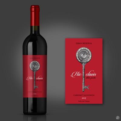 Wine label Winning design