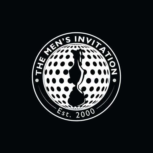 Golf club design with the title 'The Men's Invitation'