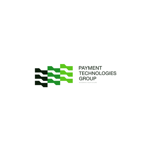 Fintech logo with the title 'Minimal Tech Logo'