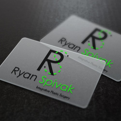 Plastic surgeon logo with the title 'Ryan Spivak Integrative Plastic Surgery'