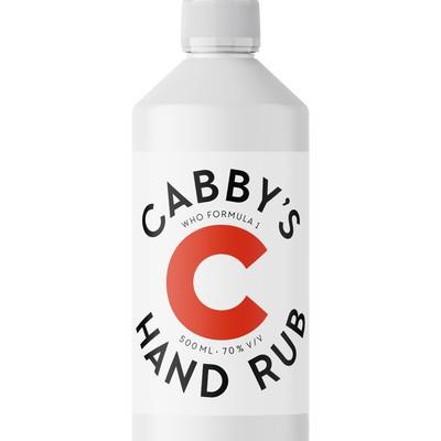 Label design for hand rub