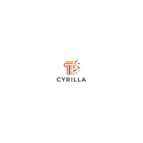 Database logo with the title 'Logo Design for Cyrilla'