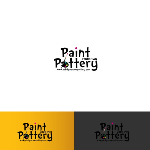 Clay logo with the title 'Design a Logo for the Pottery Painting Industry's National Ad Campaign'