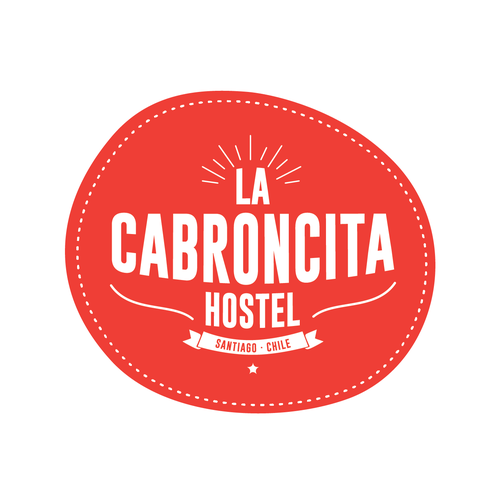 Tourism brand with the title 'Chilean Back Packer Hostel: La Cabroncita'