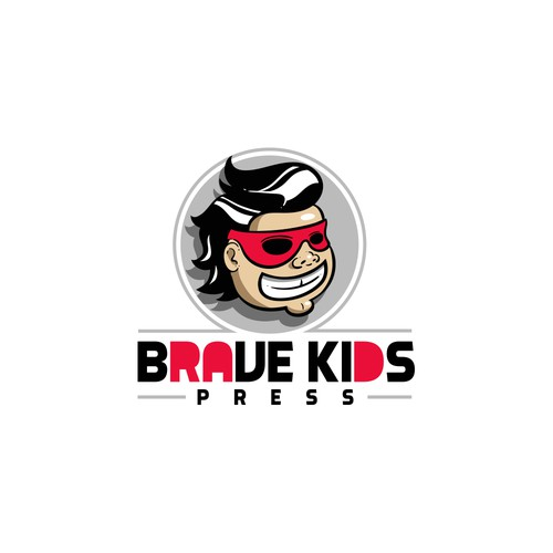 Awesome logo with the title 'cartoon mascot'