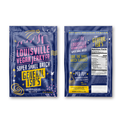 Packaging Design for Vegan Jerky