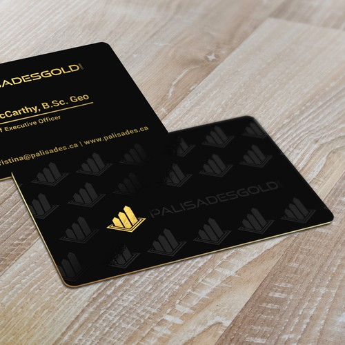 Premium design with the title 'business card design'