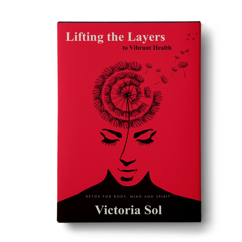 Health book cover with the title 'Lifting the layer book cover'