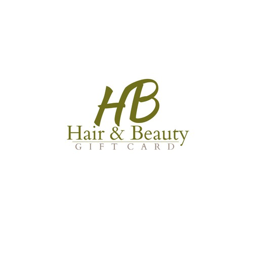Prestige logo with the title 'Hair & Beauty Logo for Gift Card'
