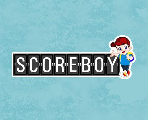 Score design with the title 'Scoreboy Gadget Logo'