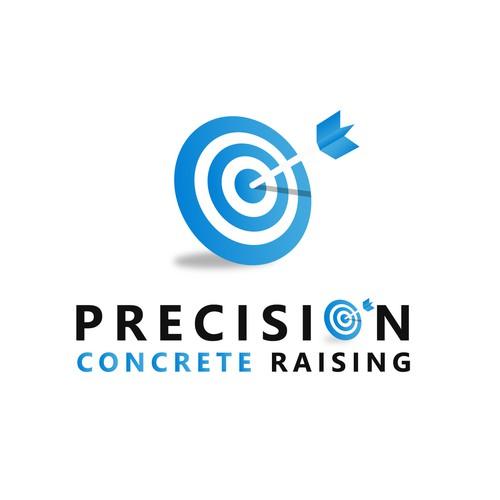 Dart logo with the title 'Precision Logo'