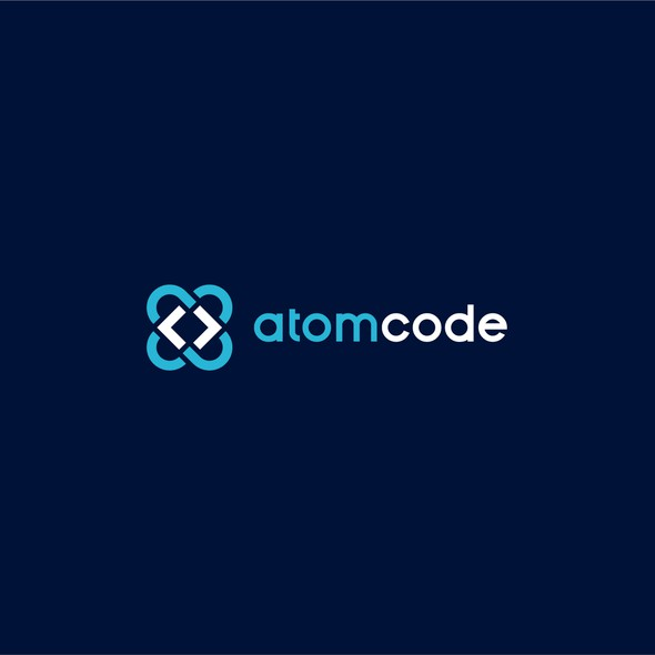 Code brand with the title 'atomcode'